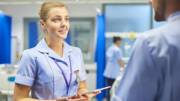 Supporting newly qualified nurses