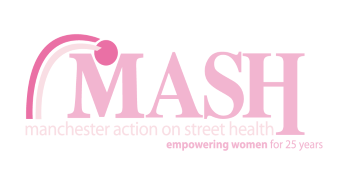 Manchester Action on Street Health (MASH) logo