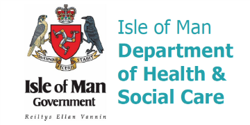 Department of Health & Social Care Isle of Man logo