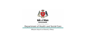 Isle of Man Government, Department of Health and Social Care logo